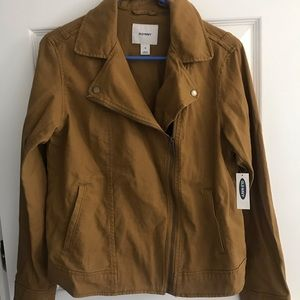 Old navy brown cotton jacket